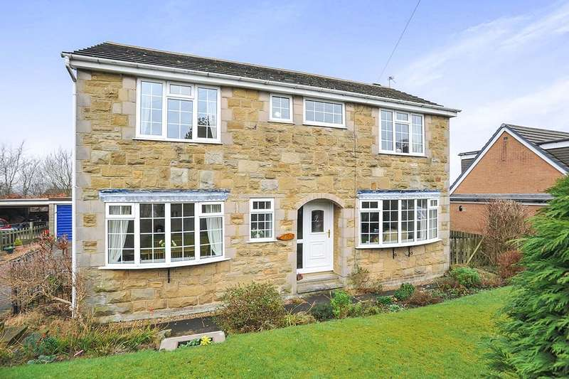 4 Bedrooms Detached House for sale in Sunningdale Crescent, Cullingworth, Bradford, BD13