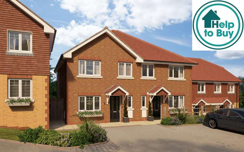 3 Bedrooms House for sale in Bartram Close, Pulborough, West Sussex, RH20