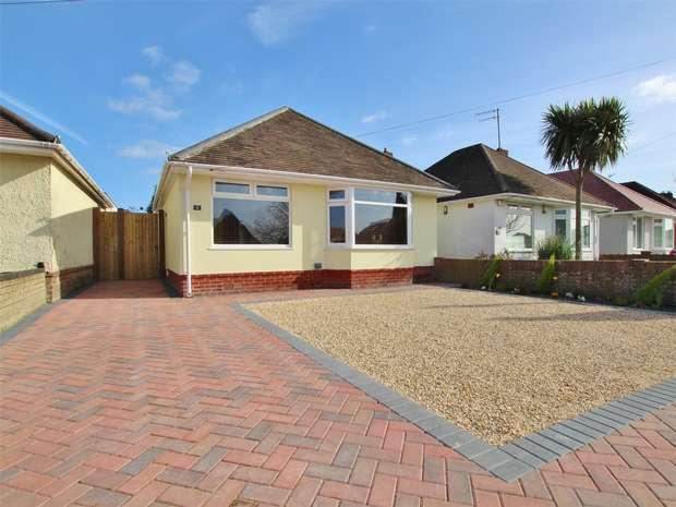 3 Bedrooms Detached Bungalow for sale in Somerby Road, Oakdale, Poole, Dorset