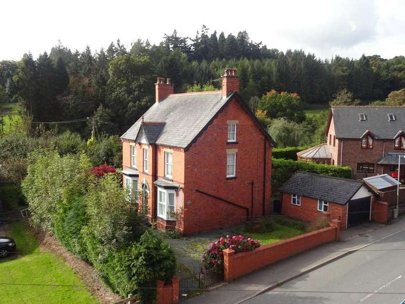 5 Bedrooms Detached House for sale in Westgate Street, Llanidloes, Powys