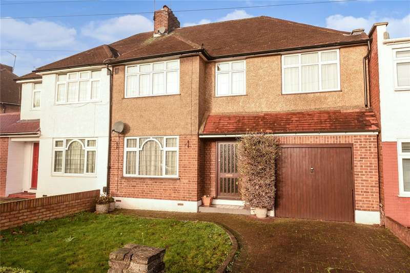 5 Bedrooms Semi Detached House for sale in Danemead Grove, Northolt, Middlesex, UB5