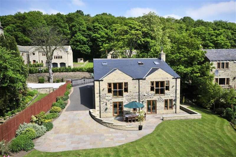 5 Bedrooms Detached House for sale in Binns Lane, Holmfirth, Holmfirth, HD9