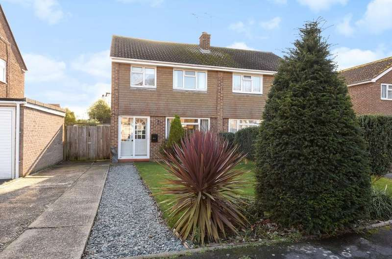 3 Bedrooms Semi Detached House for sale in Poulner Close, Felpham, Bognor Regis, PO22