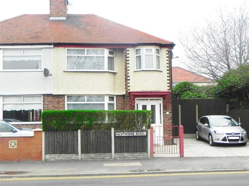 3 Bedrooms Semi Detached House for sale in Hawthorne Road, Litherland, L21