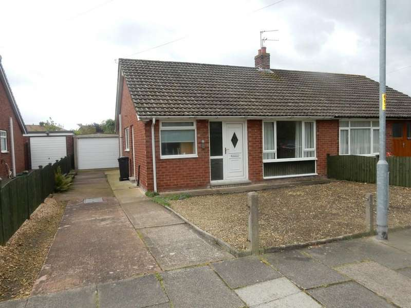 2 Bedrooms Semi Detached Bungalow for sale in Waverley Road, Carlisle