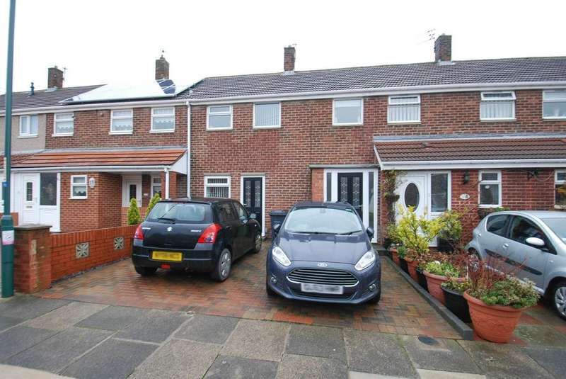 2 Bedrooms Terraced House for sale in Tanfield Gardens, South Shields