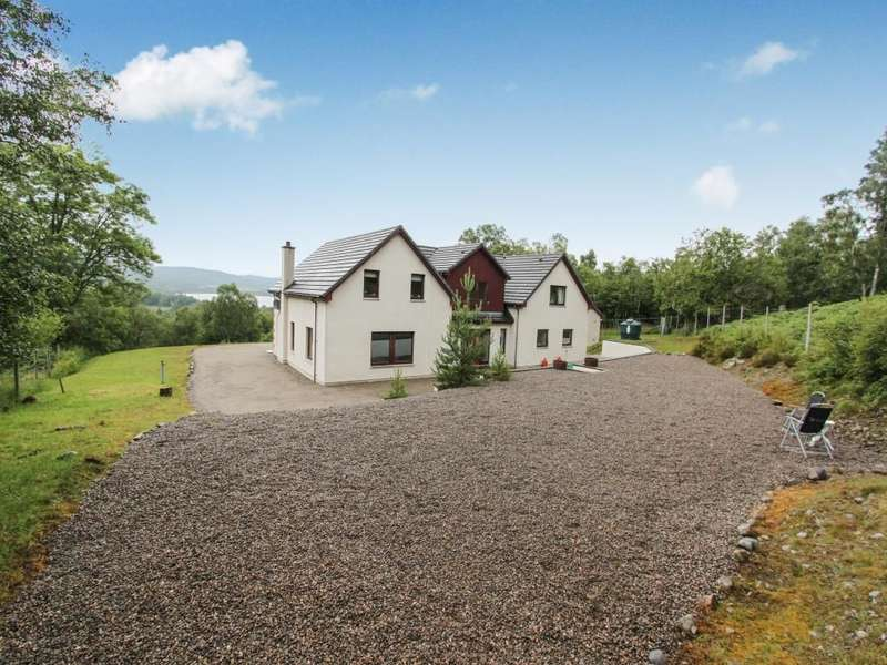 4 Bedrooms Detached House for sale in Sghorra Breac, Balnain,Drumnadrochit, Inverness, IV63