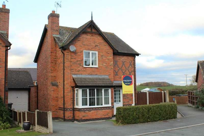 3 Bedrooms Detached House for sale in Striga Bank, Hanmer