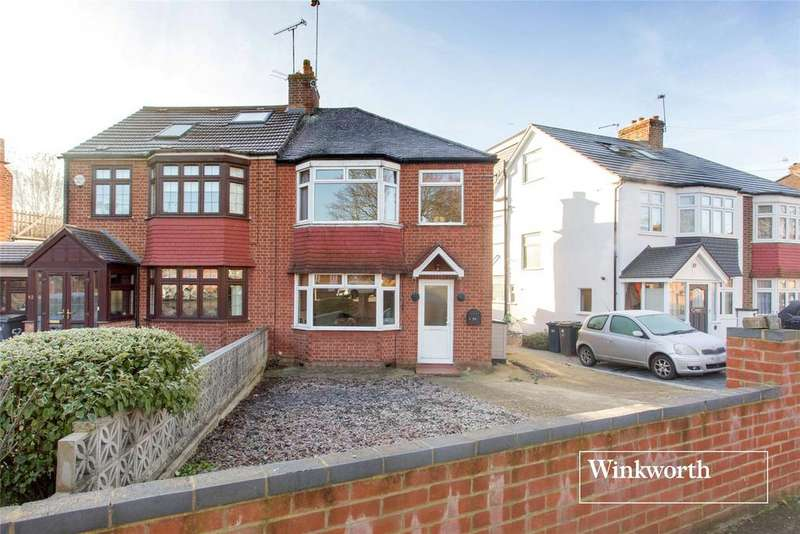 3 Bedrooms Semi Detached House for sale in Western Way, Barnet, Herts, EN5