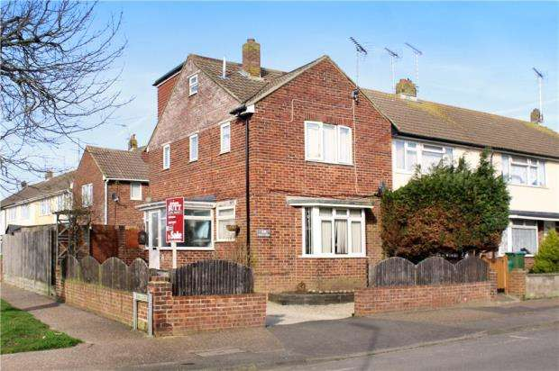 3 Bedrooms End Of Terrace House for sale in West Way, Littlehampton, West Sussex, BN17