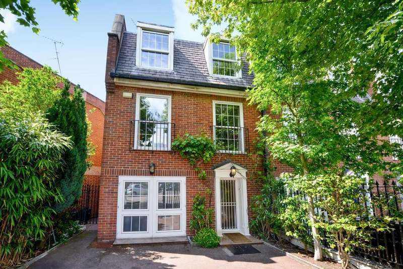 4 Bedrooms Semi Detached House for sale in Priory Terrace, South Hampstead, NW6