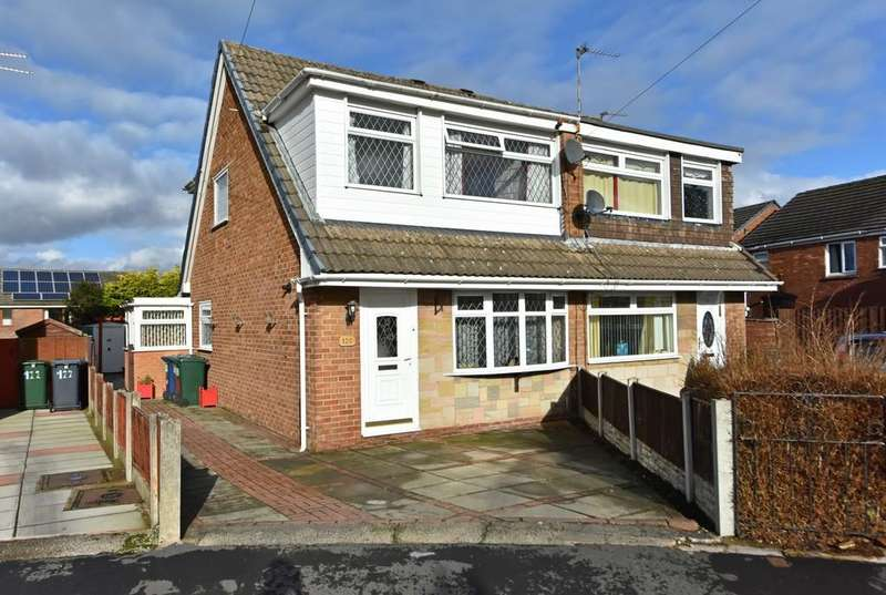 3 Bedrooms Semi Detached House for sale in Manor Avenue, Burscough
