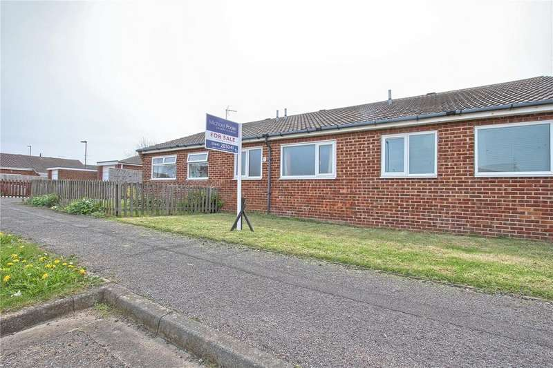 2 Bedrooms Terraced Bungalow for sale in The Parklands, Redcar