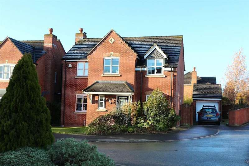 4 Bedrooms Detached House for sale in St Giles Park, Mold Road, Wrexham, LL11