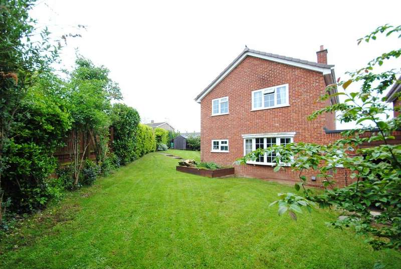 4 Bedrooms Detached House for sale in Bakers Lane, Wellington