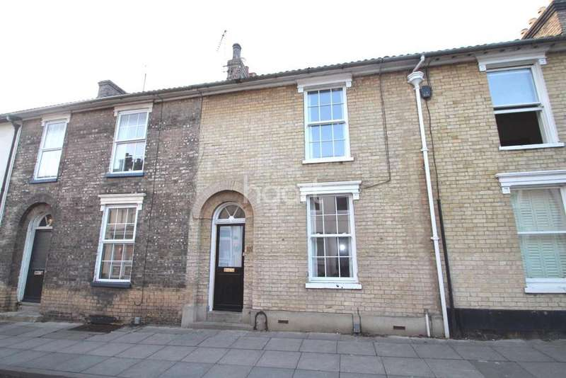 2 Bedrooms Terraced House for sale in Orford Street, IPSWICH, IP1