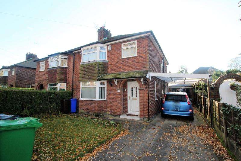 3 Bedrooms Semi Detached House for sale in Woodburn Road, Northenden , Manchester. M22 4BZ