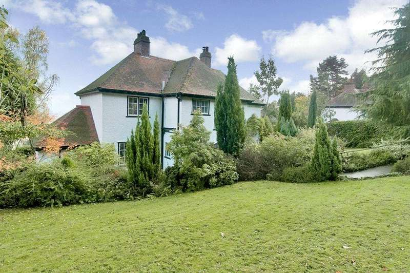 4 Bedrooms Detached House for sale in Wells Road, Malvern, Worcestershire, WR14