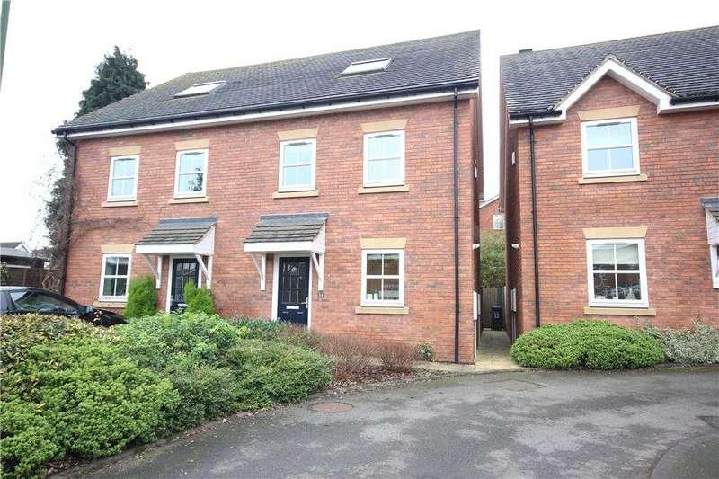 3 Bedrooms Semi Detached House for sale in Fennis Close, Dorridge, Solihull, West Midlands, B93