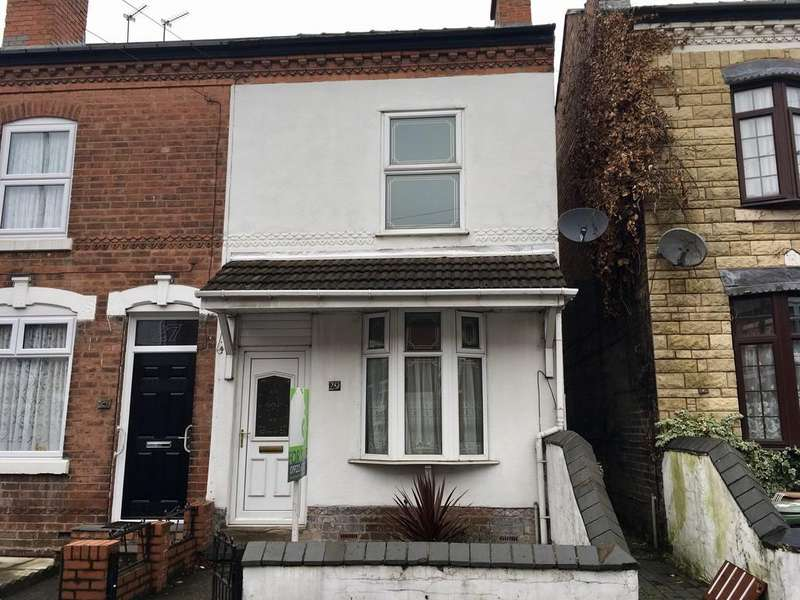 3 Bedrooms End Of Terrace House for sale in Scarborough Road, Walsall