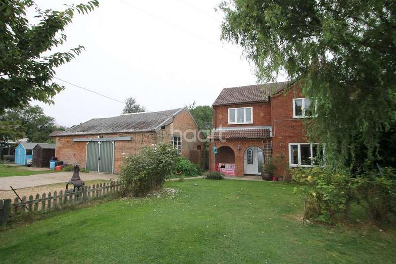 4 Bedrooms Detached House for sale in Croft Road, Upwell