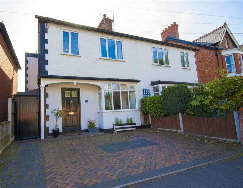 4 Bedrooms Semi Detached House for sale in Copthorne Road, Copthorne, Shrewsbury, Shropshire