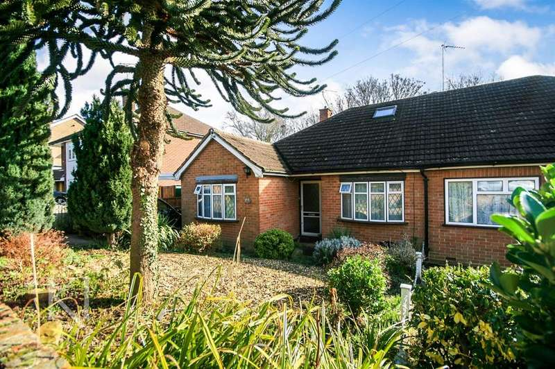 3 Bedrooms Semi Detached Bungalow for sale in Milton Road, Ware