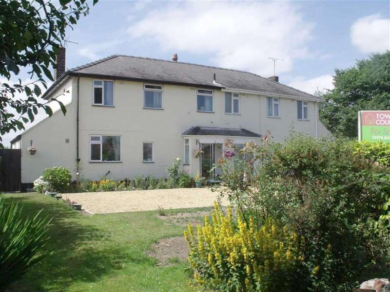 3 Bedrooms Semi Detached House for sale in Bryn Y Glyn, Rhosddu, Wrexham