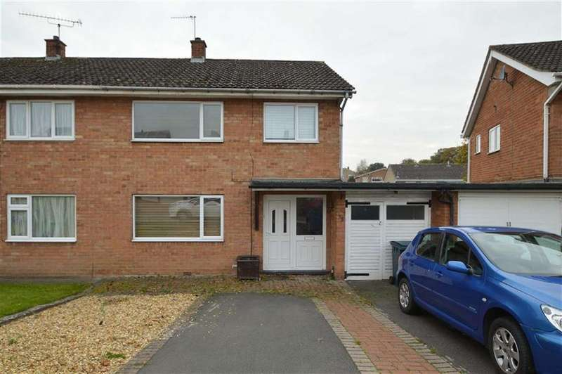 3 Bedrooms Semi Detached House for sale in Westbury Road, Heath Farm, Shrewsbury