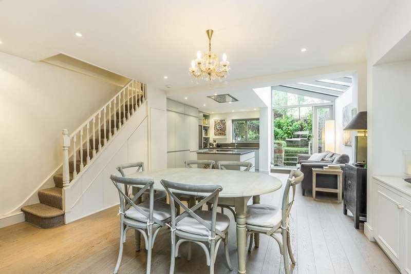 4 Bedrooms Terraced House for sale in Brackenbury Road, London, W6