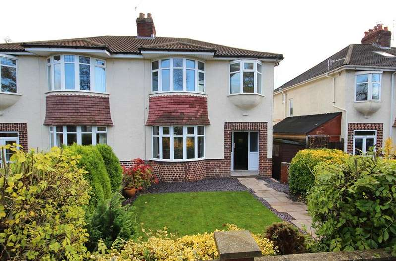 3 Bedrooms Semi Detached House for sale in Falcondale Road, Westbury-on-Trym, Bristol, BS9