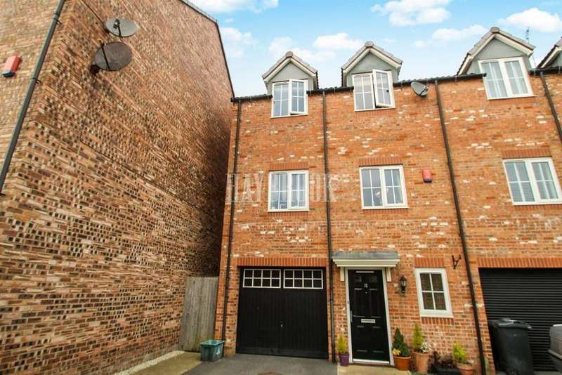 4 Bedrooms End Of Terrace House for sale in Ecklands Croft, Millhouse Green