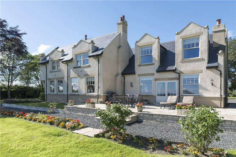 5 Bedrooms Detached House for sale in Whalton, Morpeth, Northumberland