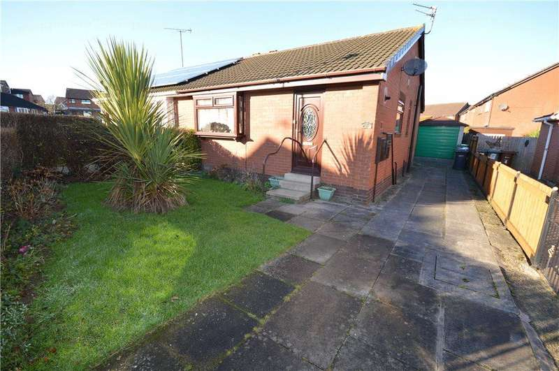 2 Bedrooms Semi Detached Bungalow for sale in South Hill Way, Leeds, West Yorkshire