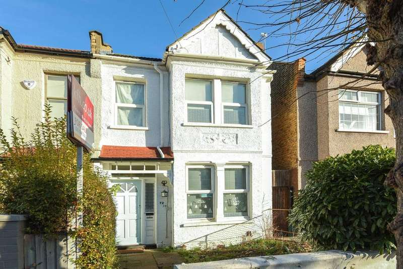 3 Bedrooms Terraced House for sale in Prince Georges Avenue, Raynes Park, SW20