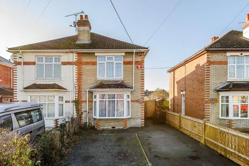 3 Bedrooms Semi Detached House for sale in Salisbury Road, Totton