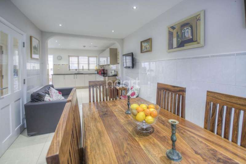 4 Bedrooms Semi Detached House for sale in Cross Way, NW10