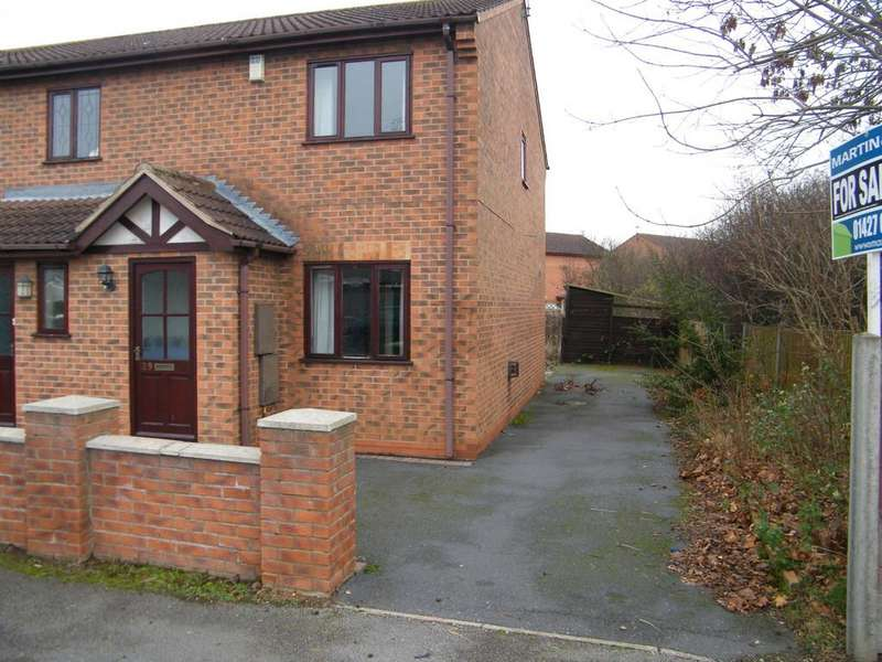 2 Bedrooms Semi Detached House for sale in Glentham Road, Gainsborough