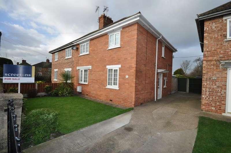3 Bedrooms Semi Detached House for sale in Grange Road, Moorends, Doncaster