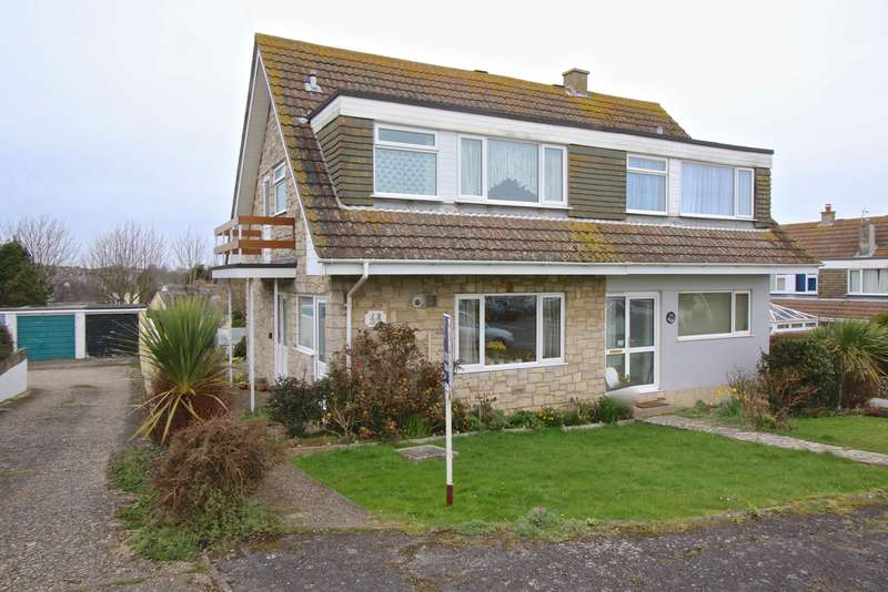 3 Bedrooms Semi Detached House for sale in BENLEASE WAY, SWANAGE