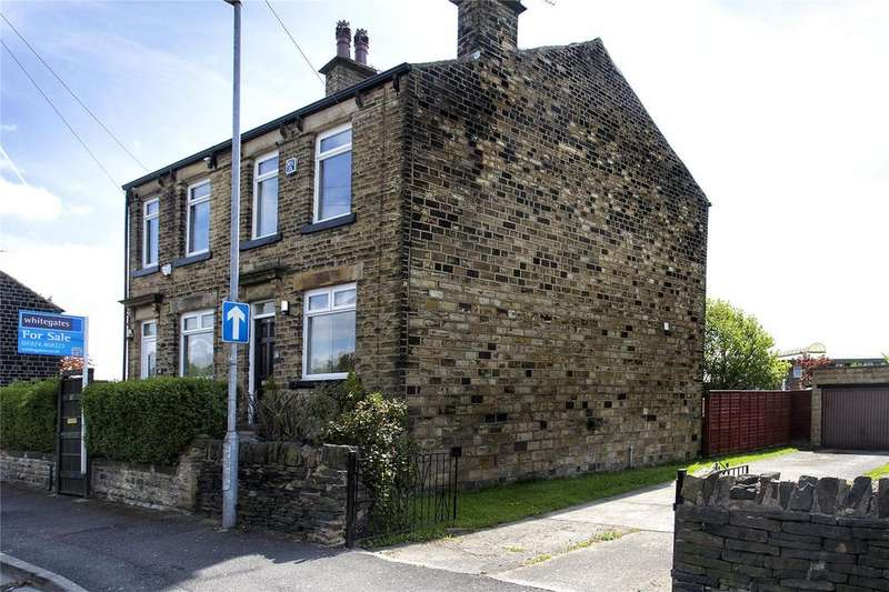 2 Bedrooms Semi Detached House for sale in Stockhill Street, Dewsbury, West Yorkshire, WF13