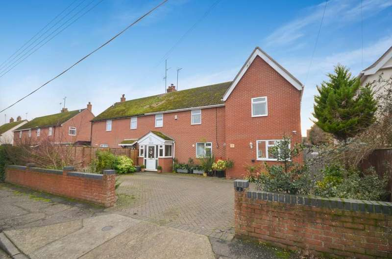 5 Bedrooms Semi Detached House for sale in Forge Street, Dedham