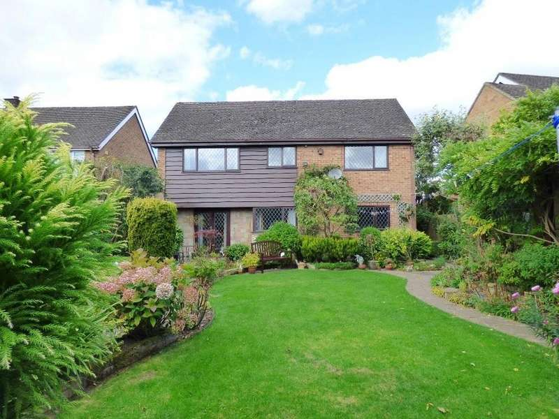 3 Bedrooms Detached House for sale in Weavers Close, Ashbourne
