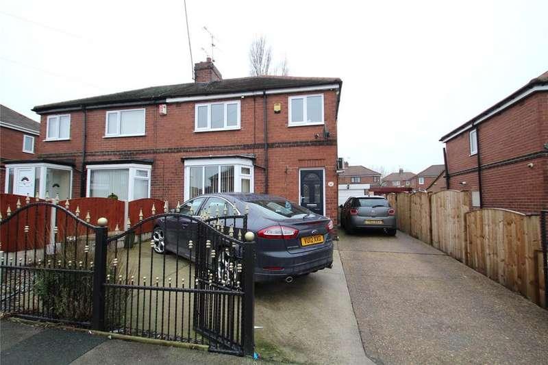 3 Bedrooms Semi Detached House for sale in Churchbalk Lane, Pontefract, WF8