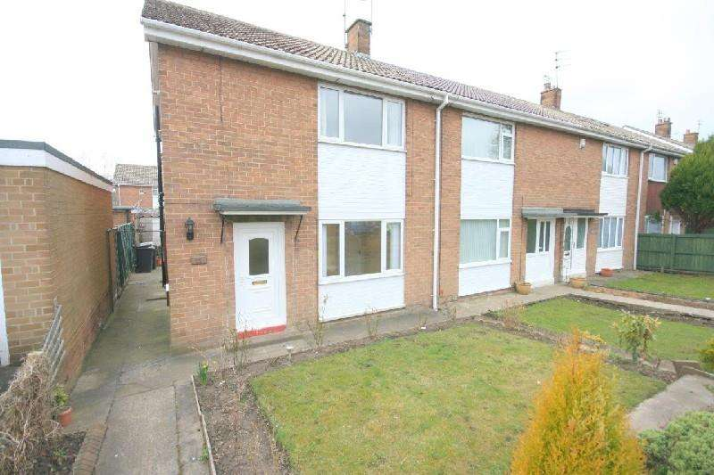 3 Bedrooms End Of Terrace House for sale in Hopgarth Gardens, Chester Le Street