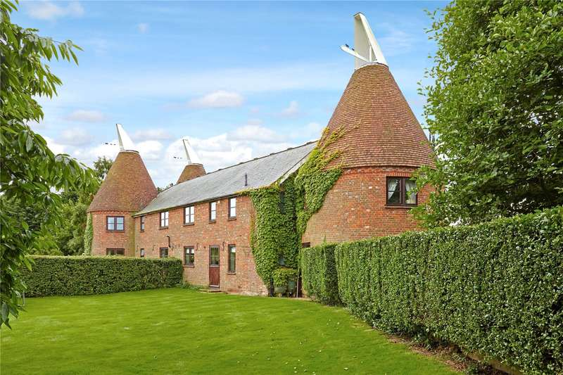 4 Bedrooms Barn Conversion Character Property for sale in Green Farm, Maidstone Road, Nettlestead, Kent, ME18