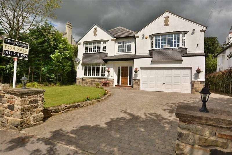 5 Bedrooms Detached House for sale in Alwoodley Lane, Alwoodley, Leeds
