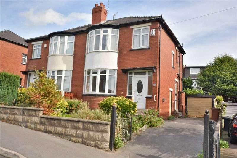 3 Bedrooms Semi Detached House for sale in Montagu Gardens, Oakwood, Leeds