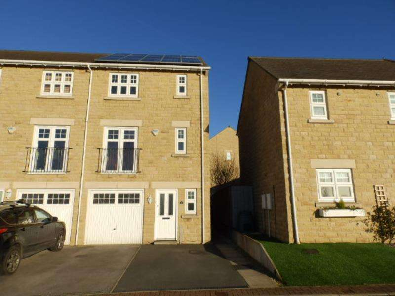 4 Bedrooms Terraced House for sale in MAYDAL DRIVE, WOOLLEY GRANGE, BARNSLEY, S75 5GN