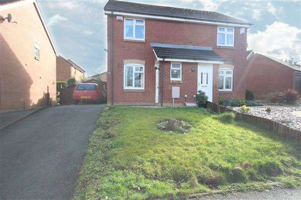 2 Bedrooms Semi Detached House for sale in Brookview Drive, Weston Coyney, Stoke-on-Trent